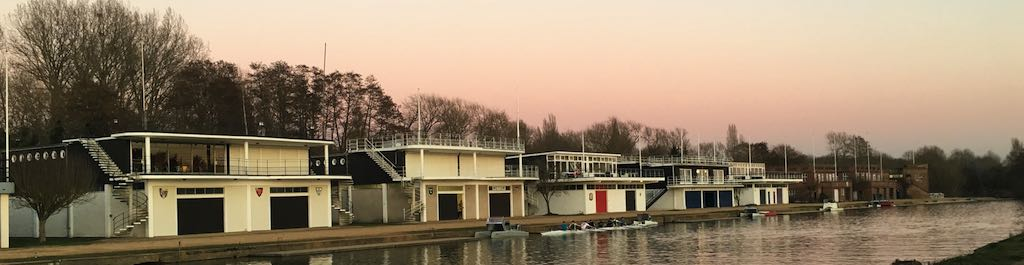 Oxford boat houses