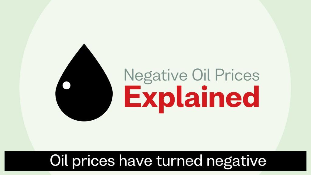 Negative Oil meaning